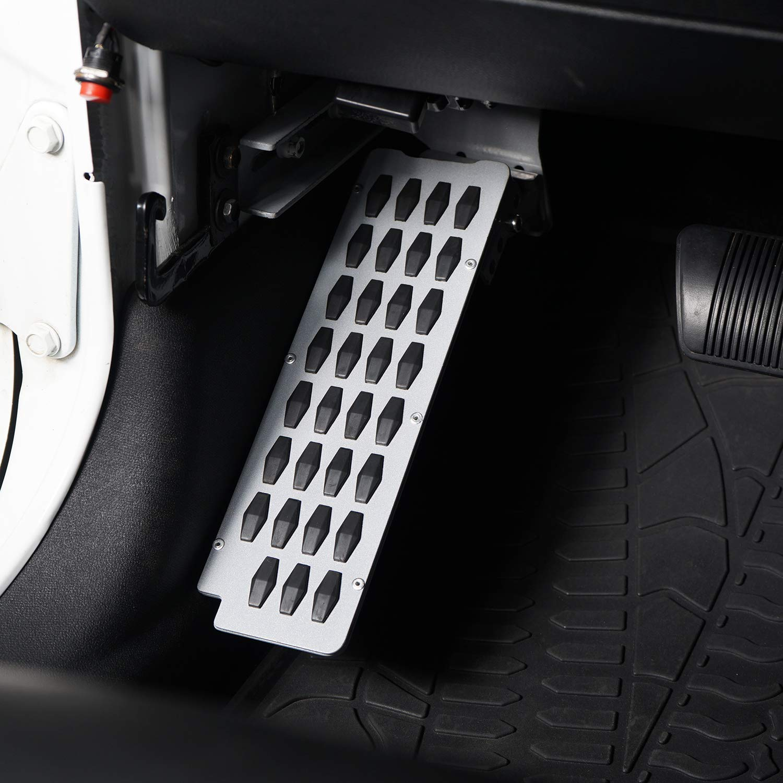 u-Box Dead Pedal Left Side Foot Rest Kick Panel for 2007-2018 Jeep Wrangler JK