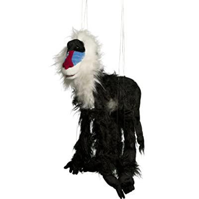 "Sunny toys 38"" Large Mandrill Marionette: Toys & Games"