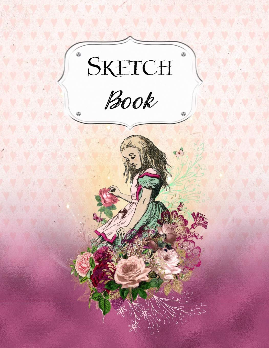 Sketch Book Alice In Wonderland Sketchbook Scetchpad For Drawing Or Doodling Notebook Pad For Creative Artists 1 Pink Artist Series Avenue J 9781072159094 Amazon Com Books