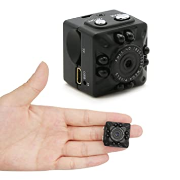 Amazon.com: MILALOKO Mini Camera Small Camera 1080P HD Portable ...