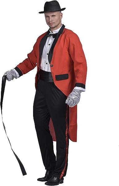 7 Ladies Ringmaster Greatest Showman Lion Tamer Circus Fancy Dress Costume Set