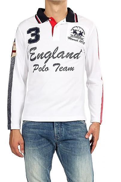 La Martina Camisa Polo ENGLAND para hombre: Amazon.es: Ropa y ...