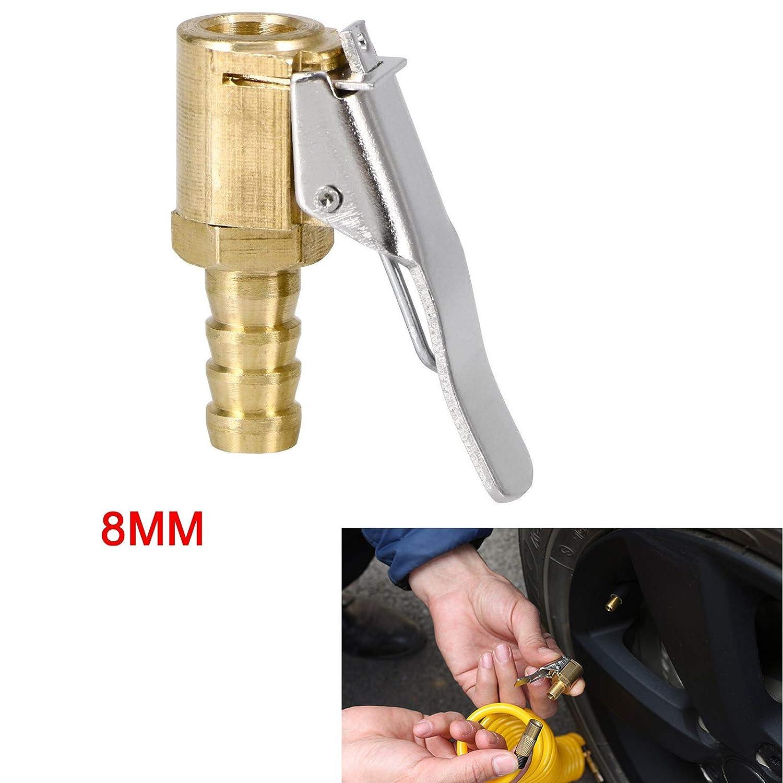 8mm KingSaid Ventilstecker Hebelstecker Autoventil Momentstecker Ventilaufsatz Messing Chrom 6mm 8mm 2 STK.