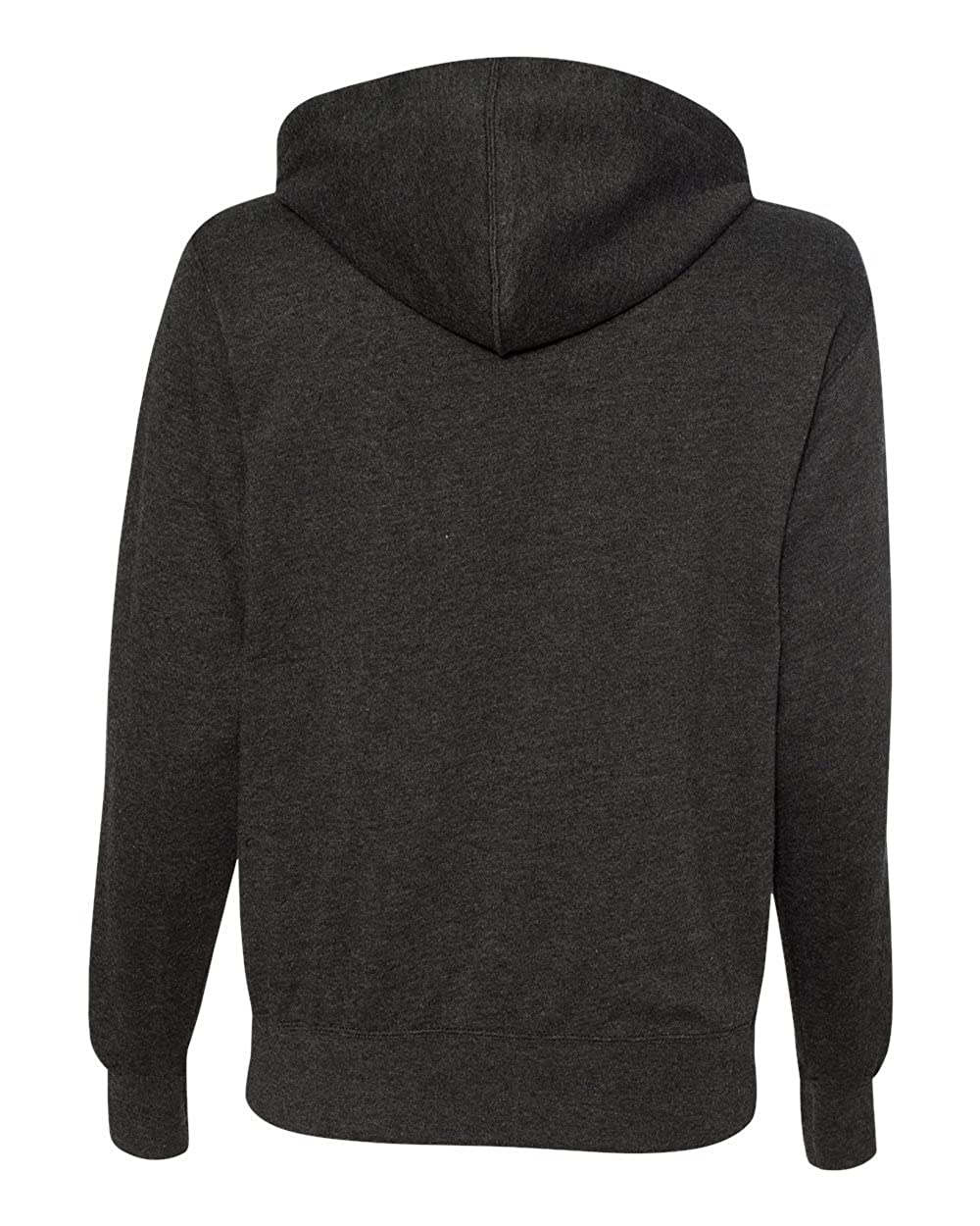 Mens French Terry Sweatshirt Independent Trading Co S Charcoal Heather