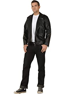 Amazon.com: Suit Yourself T-Birds Leather Jacket, Grease ...
