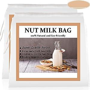 3 PCS Nut Milk Bags (12
