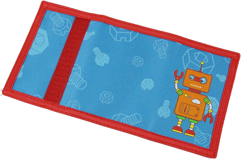 RFID Wallet Cute Cartoon Wallet with Zipper for Kids