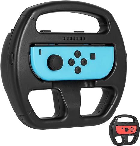Volante Nintendo Switch, Keten Volante de Joy Con Para Conducir Juegos de Mario Kart de Nintendo Switch (1 Pack): Amazon.es: Videojuegos