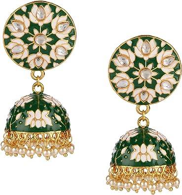 Indian jewelrytraditional earringsEthnicBollywood jewellery Pakistani Jewelry