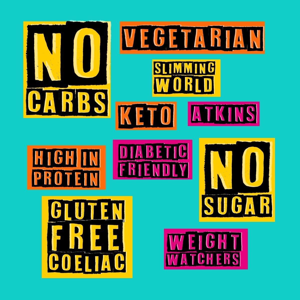 CHEESIES- Snack de Queso Crujiente, Emmental. Sin Gluten, Ceto, Sin Carbohidratos, Alto en Proteínas, Vegetariano. 12 Bolsas de 20g.