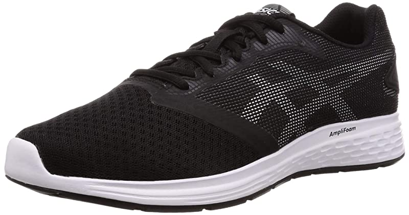 Asics Patriot 10 Sneakers Laufschuhe Herren Schwarz (Black/White)