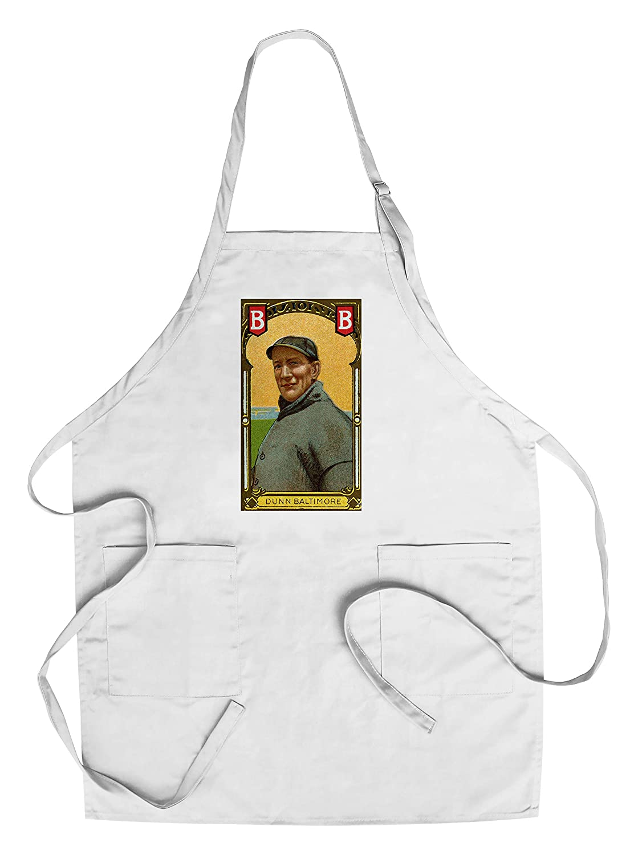 Baltimore Eastern League – ジョンDunn – 野球カード Chef's Apron LANT-23312-AP B018BTFKOC  Chef's Apron