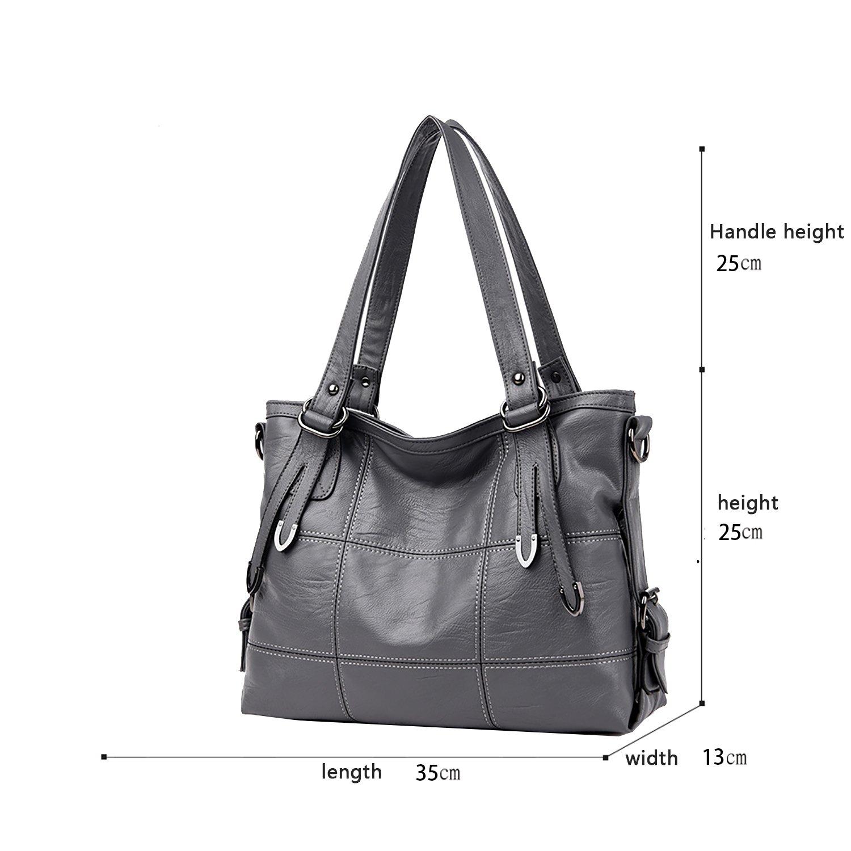 Tisdaini Sac à bandoulière pour femmes à grande entreprise sac à main grande capacité sac Messenger sacs à main pour femme portefeuille de loisirs HdcZuUnX