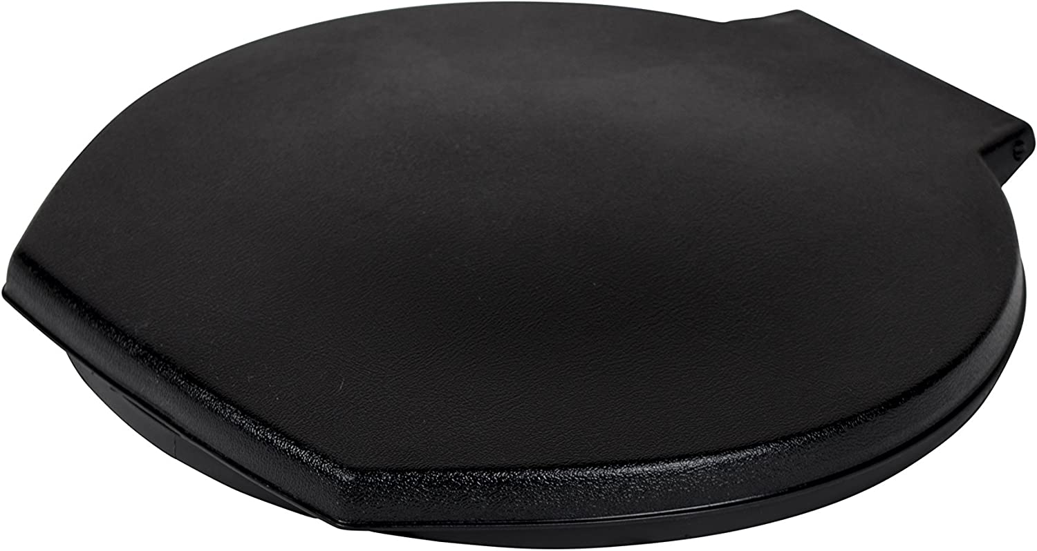 Reliance Products 9881-03 Luggable Loo Snap-on Toilet Seat with Lid for 5-Gallon Bucket, Black, 13.0 Inch x 1.5 Inch x 14.0 Inch : Camping Toilet Seat : Sports & Outdoors