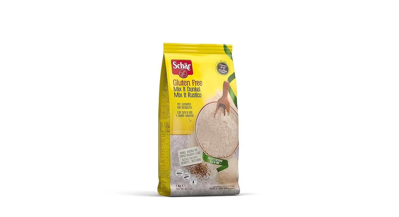 Dr. Schar Brot Mix Harina sin Gluten - 1000 gr: Amazon.es ...