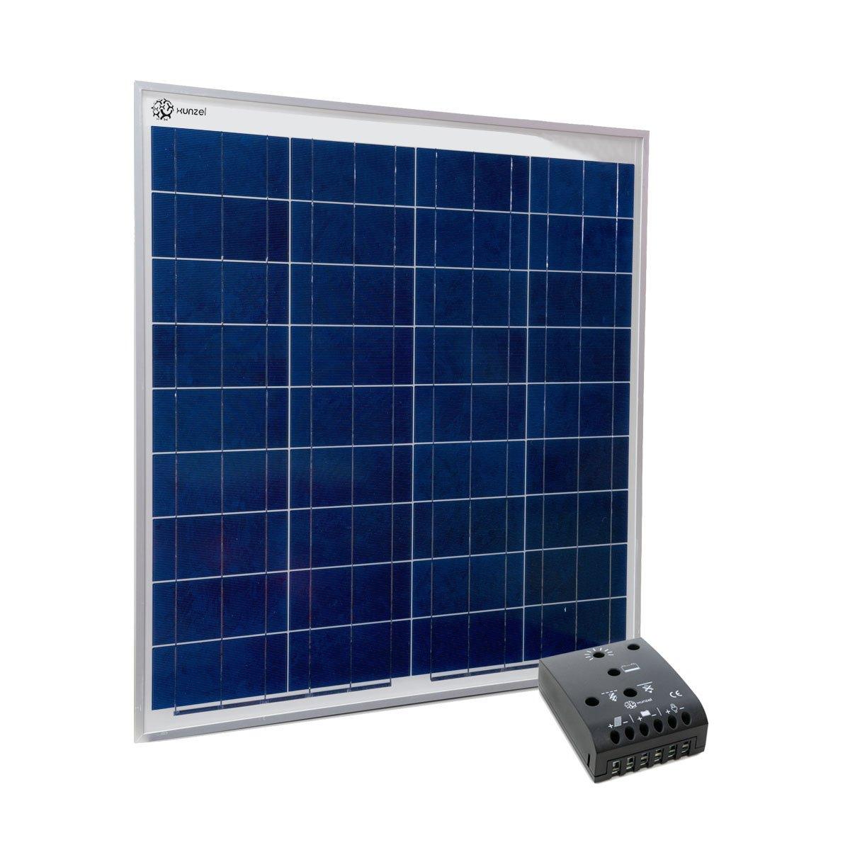 Xunzel 60 W Solar Kit für Ladung von 12 V-Batterien und Gleichstromlasten zu versorgen, 1 Stück, SOLKIT60ZT