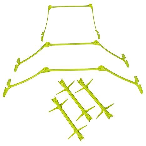 Amazon com : Speed Hurdles - 6-Pack Adjustable Hurdles Carry