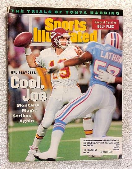 reputable site a40d5 f4999 Amazon.com: Joe Montana - Kansas City Chiefs - Sports ...