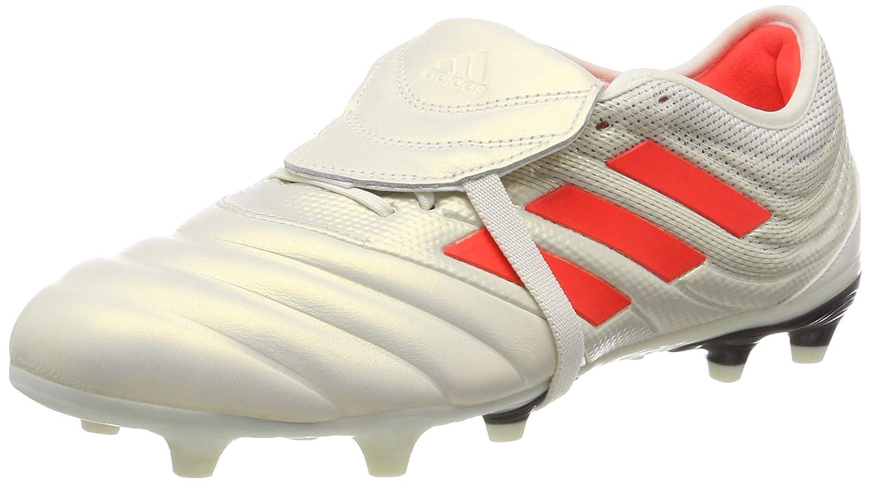 Adidas Copa Glor 19.2 FG, Chaussures de Football Homme MultiCouleure (Off blanc Solar rouge Core noir D98060) 44 2 3 EU