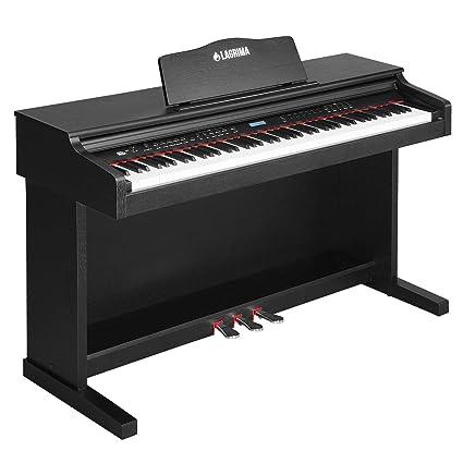 Charming LAGRIMA LG 8830 Digital Piano, 88 Keys Electric Keyboard Piano For  Beginner/Adults