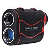 Kozyvacu Double Eagles DEPRO-800 Golf Rangefinder - Laser Range Finder with Pinsensor - Laser Binoculars - Free Battery - Wat