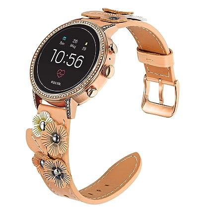Amazon.com: Correa para reloj Fossil Gen 4 Venture HR, de ...
