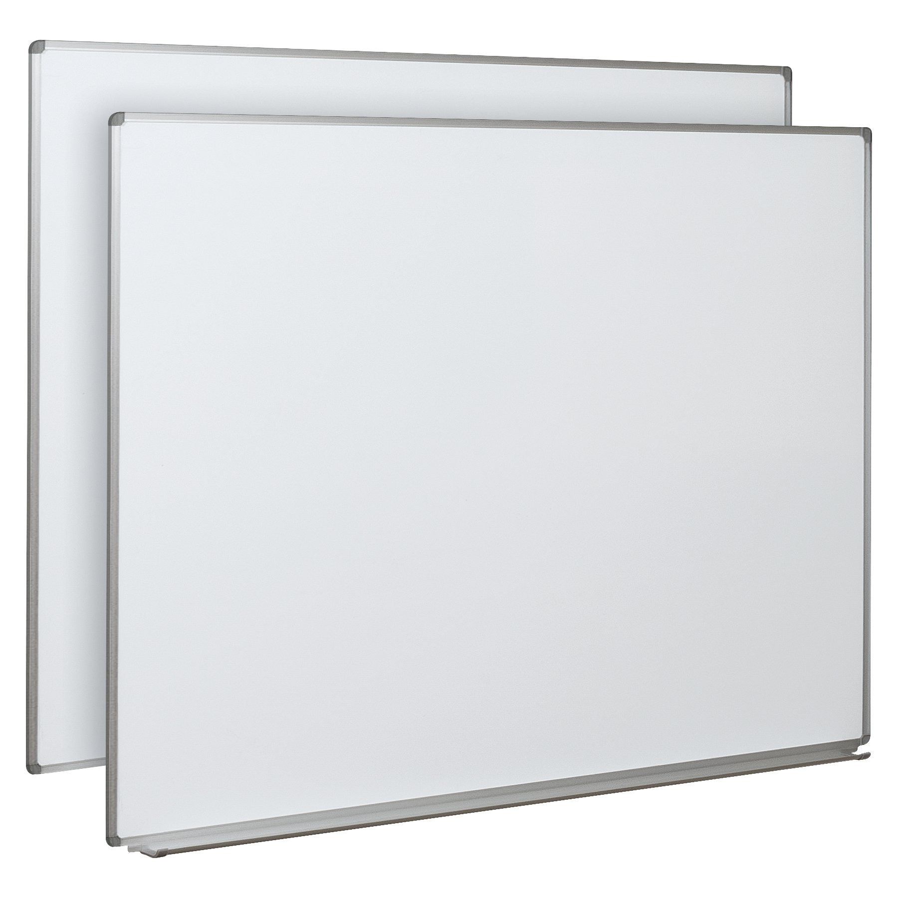 Balt Essentials Mobile Vertical Sliding Whiteboard, Vertical Boards, Box 1 of 2 and must order box 2 to complete unit (84186)