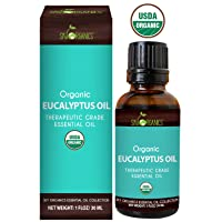 Eucalyptus Essential Oil by Sky Organics (1oz) 100% Pure Therapeutic Grade Oil for...
