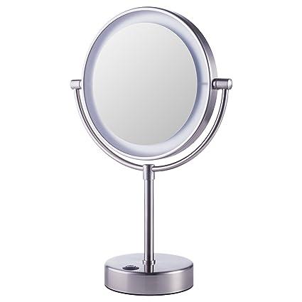 Espejo Bano Aumento Con Luz.Espejo De Tocador De La Marca Ikea Modelo Kaitum Con