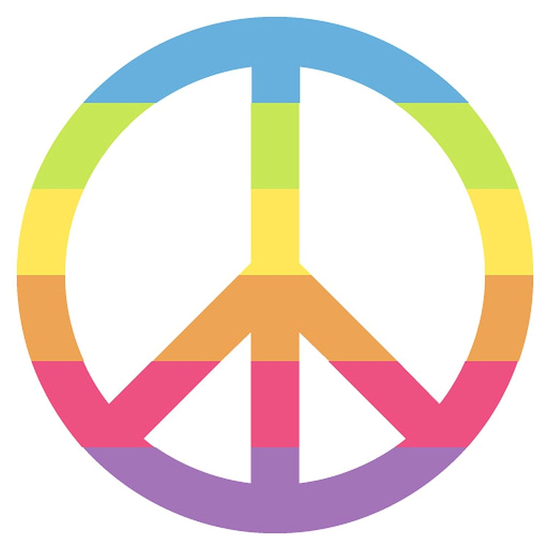 Amazon Peace Symbol Emoji Metal Sign Garden Outdoor