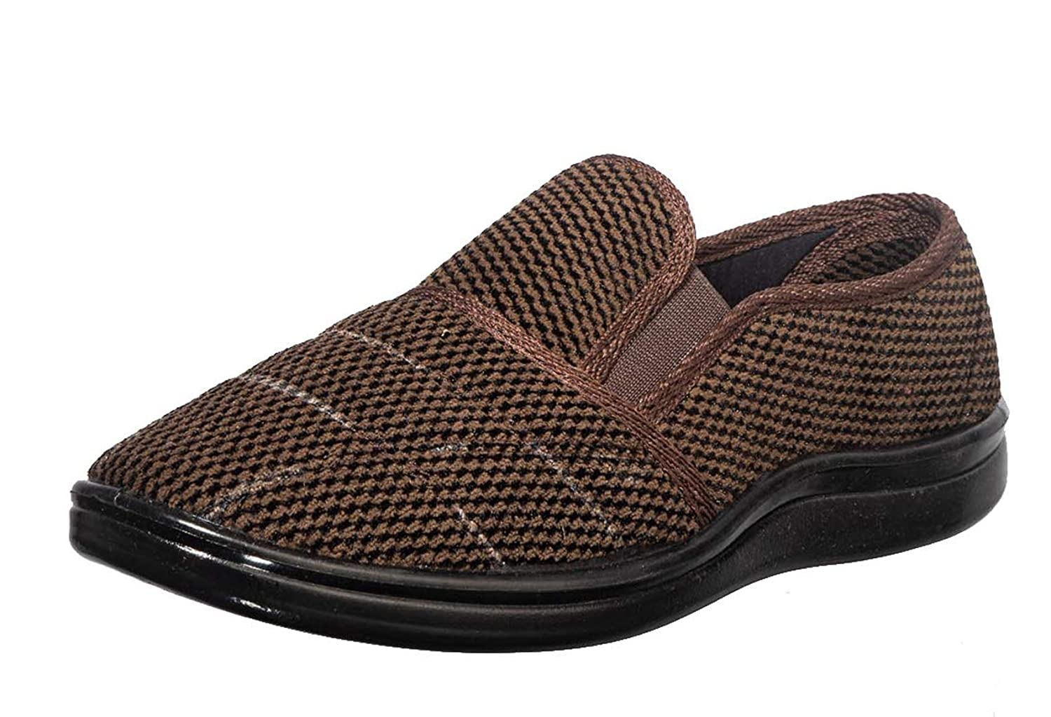 Brown Casual Slip-On Sneakers at Amazon