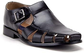 5f4c7855825 J aime Aldo Men s 44390 Vented Closed Toe Dress Fisherman Sandals Shoes