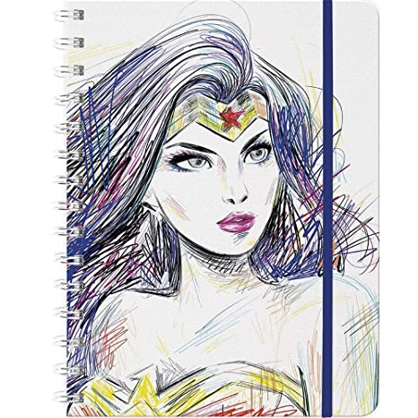 Amazon.com : 2019 Wonder Woman Weekly Note Planner : Office ...