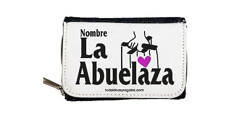Monedero Personalizados TODOIDEAS LA ABUELAZA: Amazon.es ...