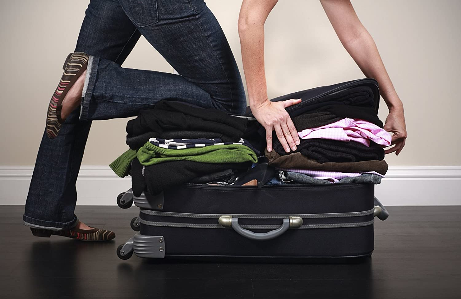 Overpacking is always a problem - Travel Packing Cubes