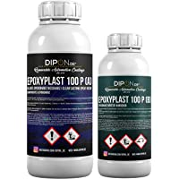 1,5 kg epoxyhars 2K EP hout glashelder lamineerhars giethars epoxy voor GFK-tafel vloer Terra Aquarium vormenbouw UV…