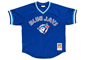 super popular 33a2c c0c79 Mitchell & Ness Toronto Blue Jays #29 Joe Carter Mesh Batting Practice  Jersey