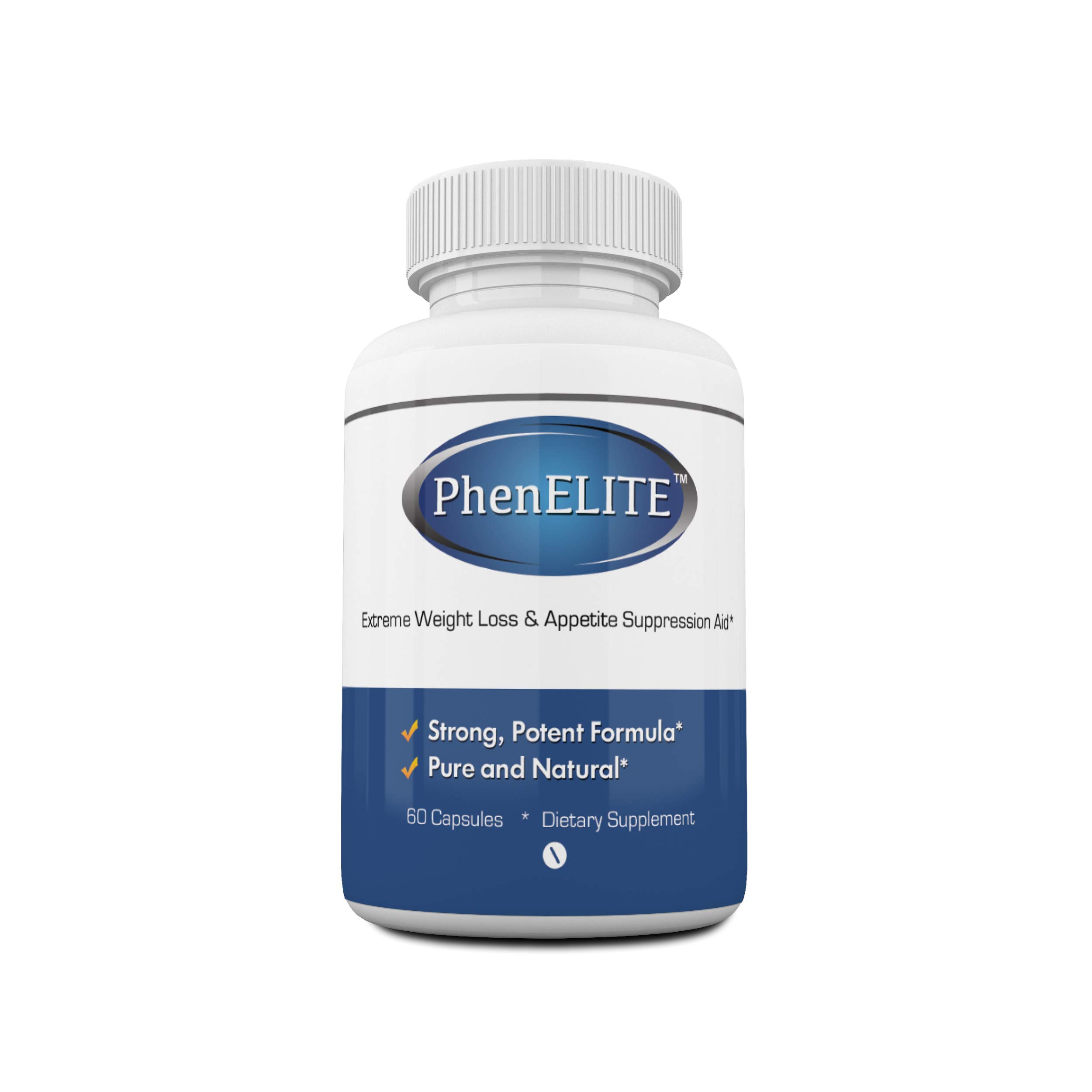 PhenELITE Weight Loss & Appetite Suppressant: Belly Fat Burner & Diet Supplement Pill with Apple Cider Vinegar, Raspberry Ketones & Green Tea Extract - Boost Energy & Concentration - 60 Capsules by Phenelite