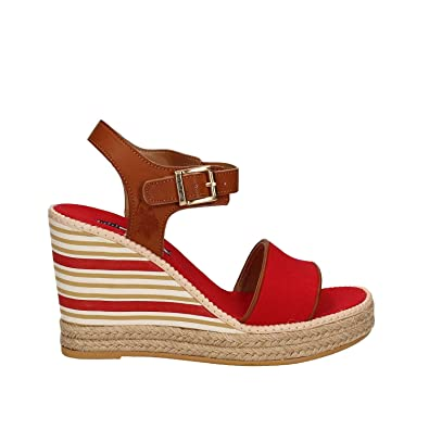 Us Polo Sandal- Nymphea1 Doras 40 Rouge ISHAOY