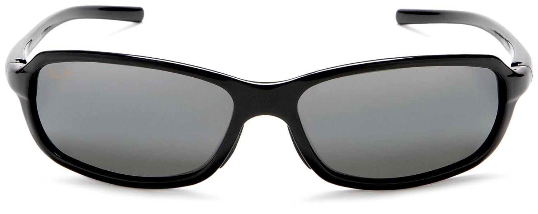 Amazon.com: Maui Jim 107-02 Gloss Black Whitecap Wrap ...