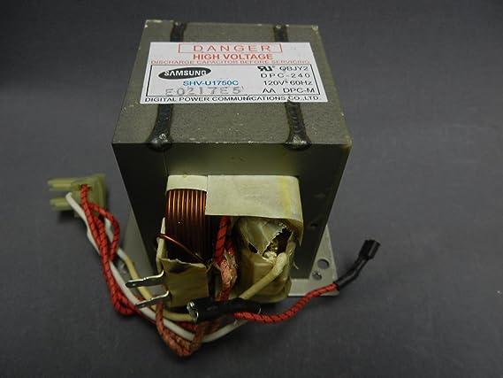 Amazon.com: Samsung de26 – 00143 C Microondas Transformador ...