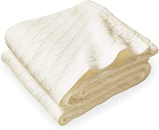 product image for Brahms/Mount Oxbow Cotton Queen Blanket Natural