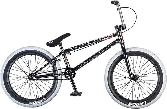 Mafiabike Madmain 20 - Bicicleta BMX, Gris Crackle: Amazon.es ...