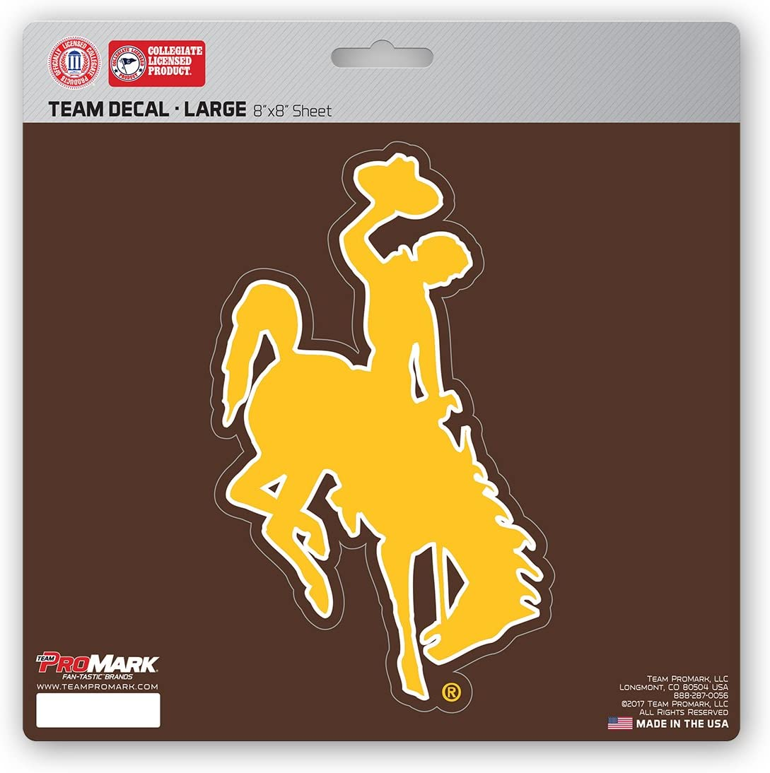 8x8 FANMATS NCAA Wyoming Cowboys Unisex Wyoming Cowboys Decal Die Cutwyoming Cowboys Decal Die Cut Team Color