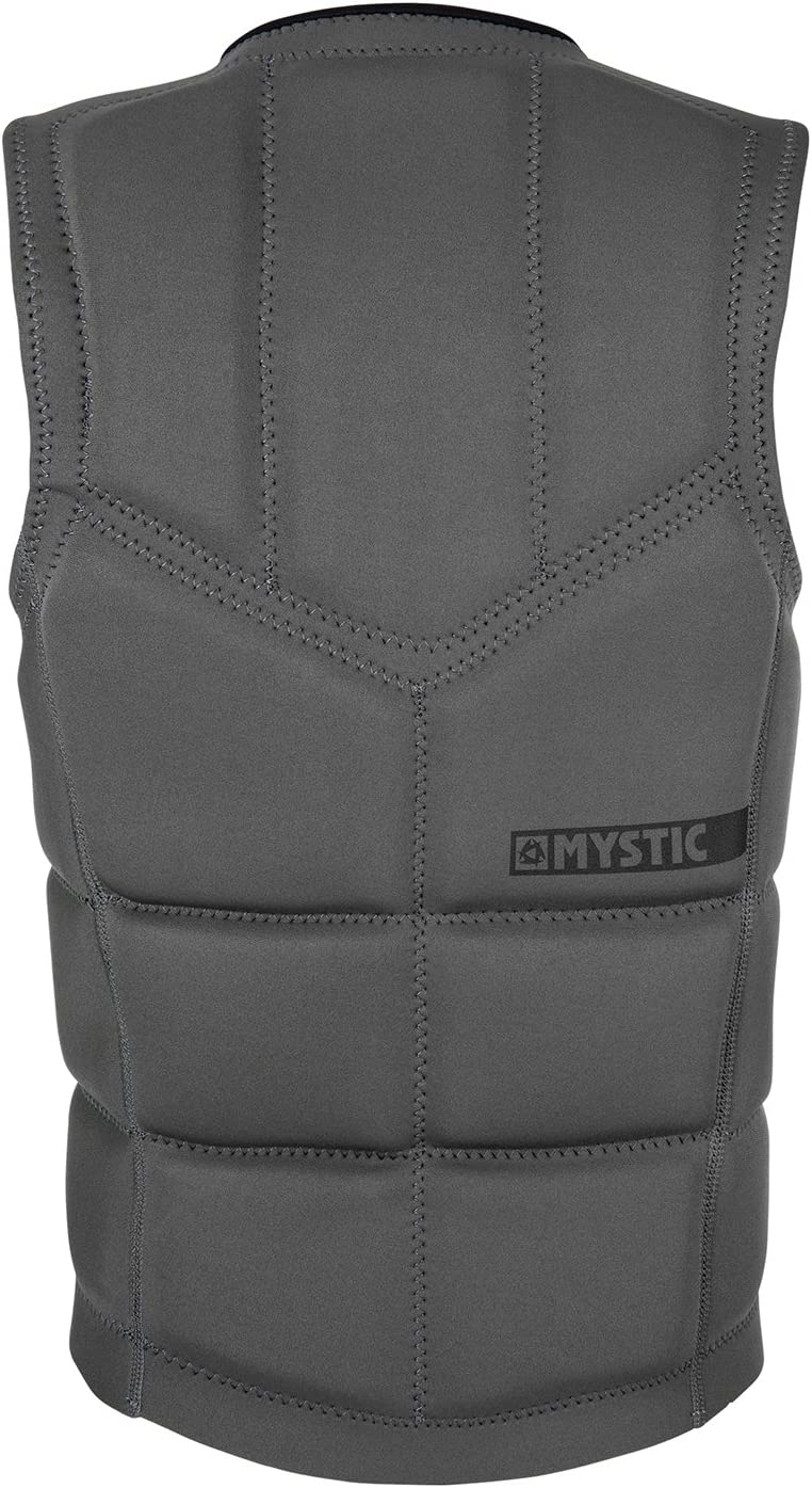 Mystic Brand Front-Zip Impact Vest 2019 Grey