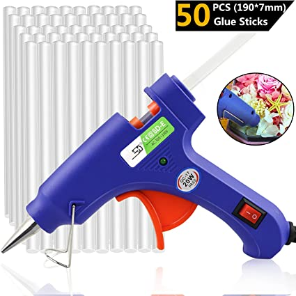 20 PCS Glue Stick 7 mm 100 190 Long Hot Melt Heat Electric Pistol Repair Tool