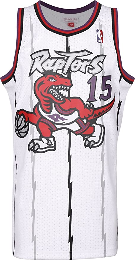 superior quality a9678 c67cc Men's Toronto Raptors Vince Carter Mitchell & Ness White ...