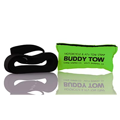 "Chase HarperUSA 9100 - Buddy Tow - Tough military spec nylon webbing (1785 lb. test) 12' x 1"" - Lime Green: Automotive"