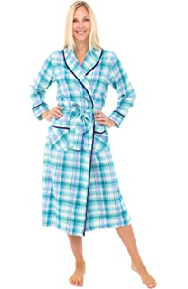 a2519220bac30 Alexander Del Rossa Womens Dotted Cotton Summer Robe