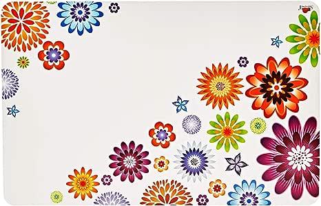 مفارش طاولة بلاستيكية Servewell - أبيض (28 × 43 سم), بلاستيك, ابيض, 28 x 43cm